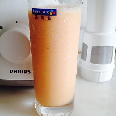 芒果蜜桃开胃沙冰