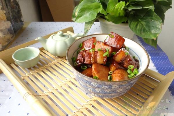 懒人版竹笋红烧肉的做法