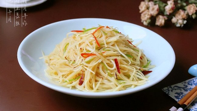快手家常菜——酸辣土豆丝的做法