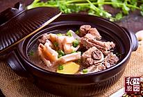 小羽私厨之莲藕排骨汤的做法
