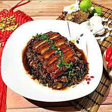 梅干菜蒸虎皮扣肉(完整教程)