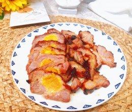 咸蛋黄叉烧肉的做法