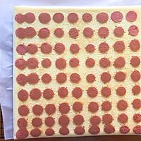 #秋天怎么吃#波点蜜桃蛋糕卷的做法图解18