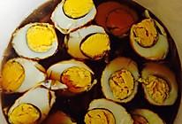 花菜排骨虎皮蛋的做法