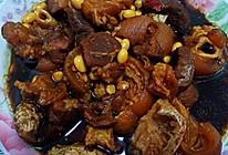 #福气年夜菜#不用炒糖色的黄豆焖猪蹄的做法
