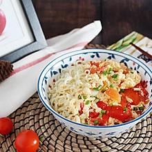#夏日消暑,非它莫属#【西红柿鸡蛋打卤面】 酸甜开胃