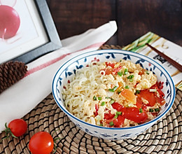 #夏日消暑,非它莫属#【西红柿鸡蛋打卤面】 酸甜开胃的做法