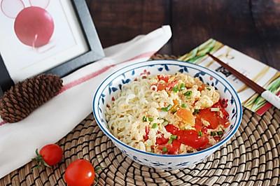 【西红柿鸡蛋打卤面】 酸甜开胃