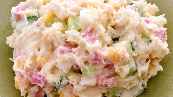 比西餐厅还好吃的土豆沙拉