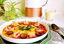 豆浆海参虾仁炖蛋#九阳破壁豆浆机Q3#的做法