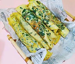 简单又好吃的野菜饼-马齿苋鸡蛋煎饼的做法
