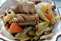 排骨炖豆角土豆的做法