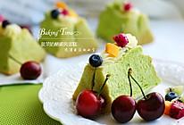 翡翠欲滴:菠菜奶酪戚风蛋糕的做法