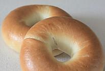 简单耐嚼的贝果面包的做法