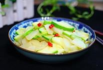 土豆炒西葫芦的做法