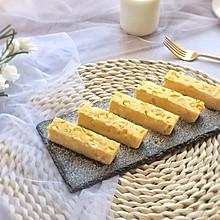 冰糖甜玉米牛奶糕