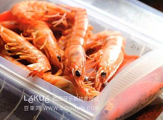 茉莉花茶虾