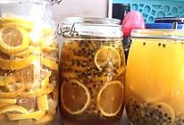 柠檬酵素'蜂蜜百香果柠檬的做法