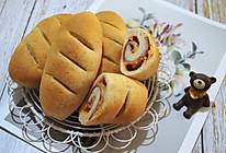 #美食新势力#  一次发酵快手培根芝士面包卷的做法