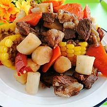 #合理膳食 营养健康进家庭#不加一滴油炖羊肉玉米山药胡萝卜