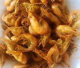香炸小河虾的做法