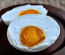 在家轻松自制咸鸭蛋--饱和盐水法的做法