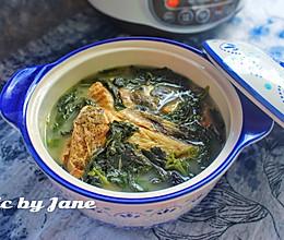 紫苏斑鱼汤的做法