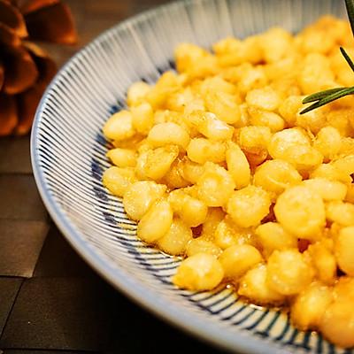 咸蛋黄炒玉米