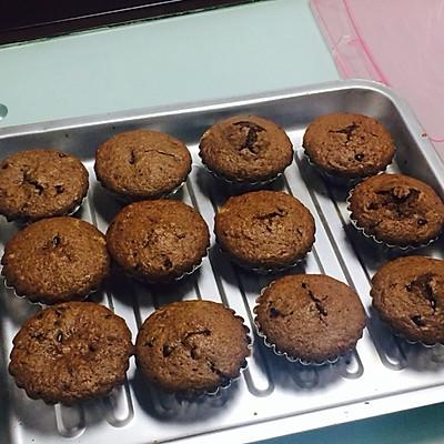 爆浆花生巧克力绵绵蛋糕的做法 步骤10