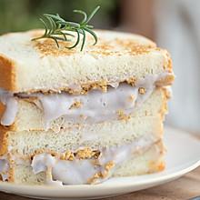 芋泥肉松三明治