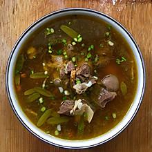 羊肉石橄榄滋补汤