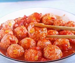 番茄鸡肉丸子│减脂小能手的做法
