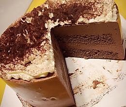 高颜值【巧克力慕斯】生日蛋糕(六寸详细步骤版)的做法