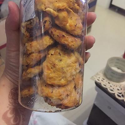 狗狗零食鸡肉胡萝卜红薯饼