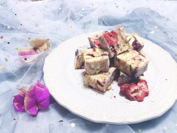 莓果雪花酥的做法