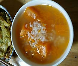快手早餐――南瓜稀饭的做法