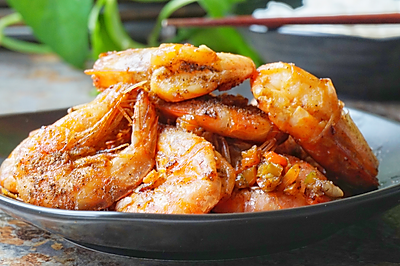 椒盐大虾#宴客拿手菜#