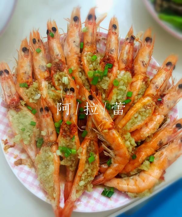 清蒸蒜蓉虾的做法