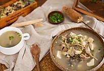 牡蛎豆腐蘑菇汤 二叔食集的做法