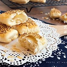满口香丨酥掉渣的芝麻烧饼#相聚组个局#