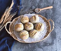 奇亚籽无糖小面包的做法