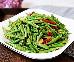 超下饭的辣椒爆炒豇豆丝的做法