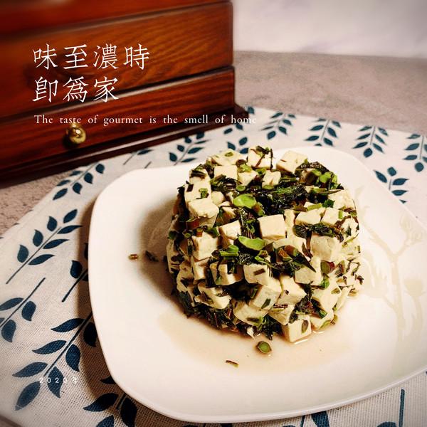 吃一口家的味道——香椿拌豆腐的做法