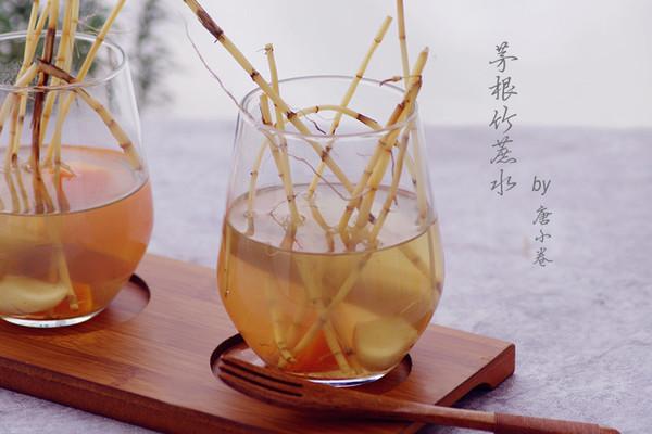 两步熬出夏日清火特饮——茅根竹蔗水的做法