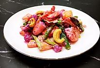 初夏鲜虾蔬果沙拉的做法