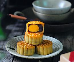 广式月饼——咸蛋黄豆沙月饼(新手版)的做法