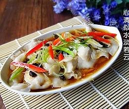 豉椒清蒸鱼片的做法