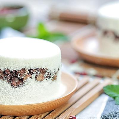 红豆雪蒸糕