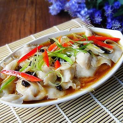 豉椒清蒸鱼片