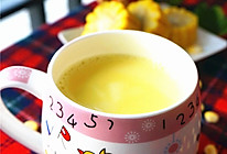 鲜榨牛奶玉米汁—冬季暖身的做法